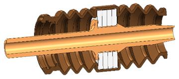 ネックスピーカーのハイブリッド構造