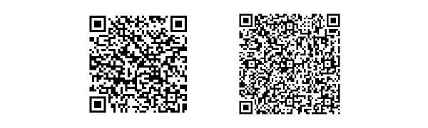 iOSとAndroidアプリQRコード