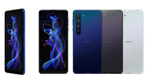 IGZO液晶を搭載する5Gスマートフォン「AQUOS R5G」(3月25日より発売中)