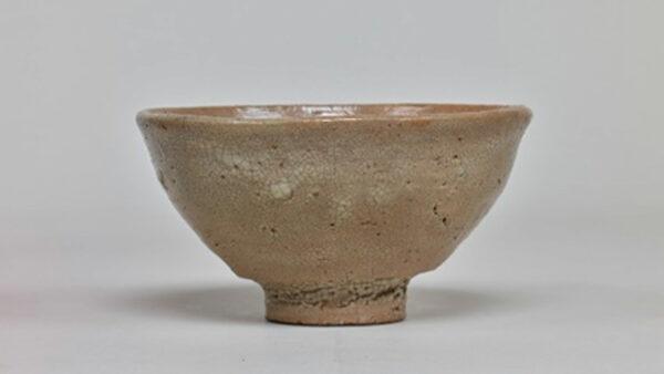 「大井戸茶碗 有楽井戸」(東京国立博物館所蔵の重要美術品)