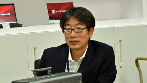 商品企画担当のDynabook社 中野さん