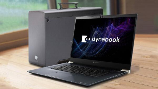 Dynabook株式会社から発売された「8K映像編集PCシステム」