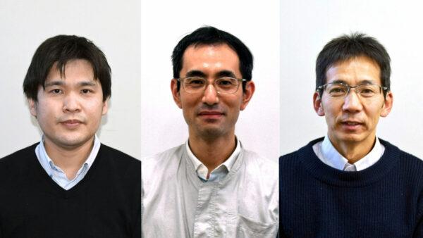 左から 古田さん、濱本さん、東さん