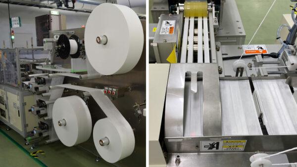 シャープ三重工場の生産ライン