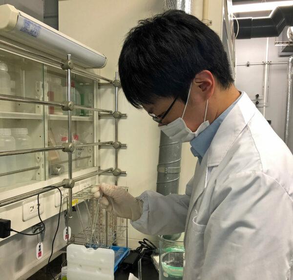 「TEKION LAB」で「3℃適温蓄冷材」の開発を主導した池田さん