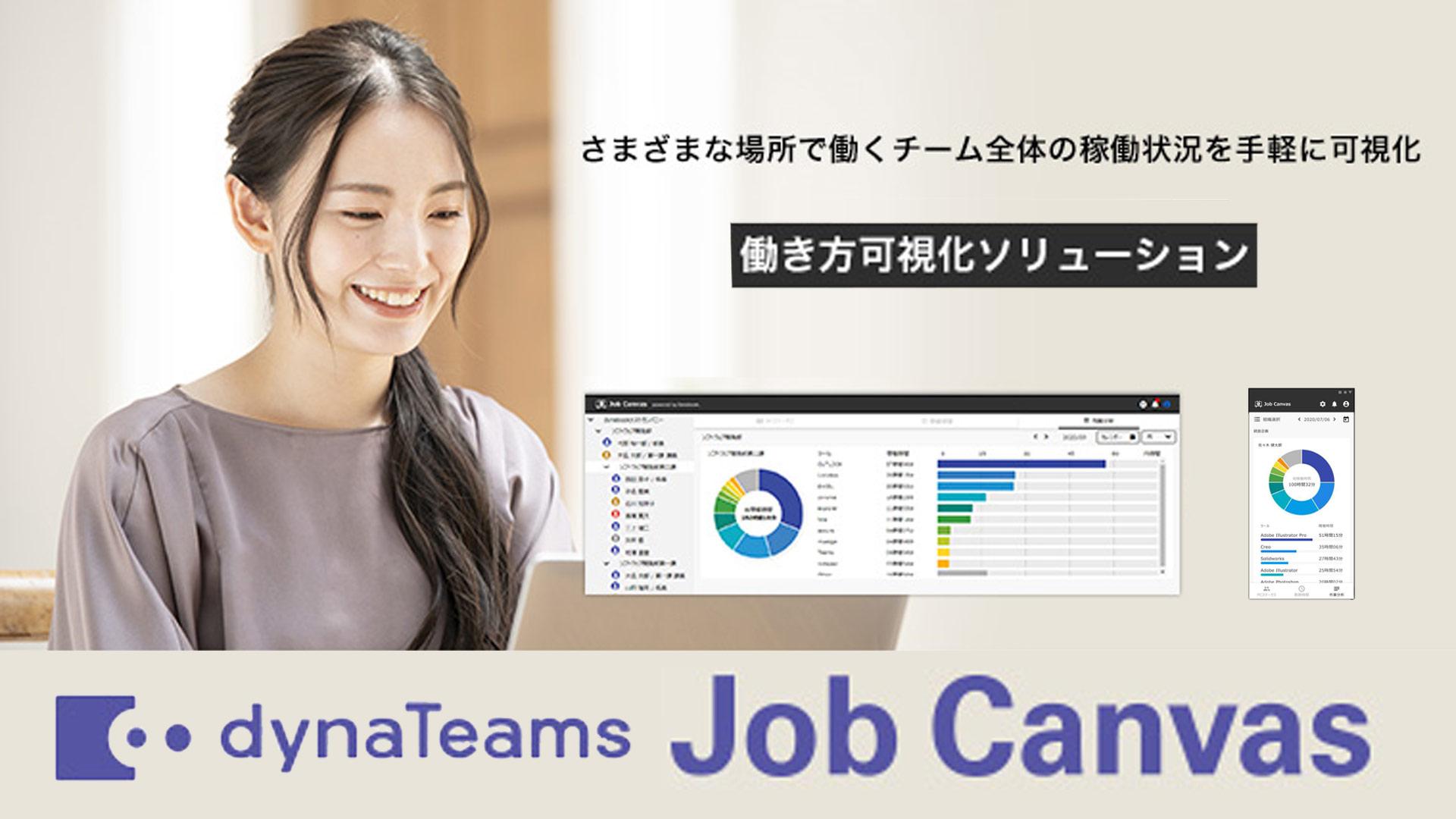 - 働き方可視化ソリューション dynaTeams「Job Canvas」-