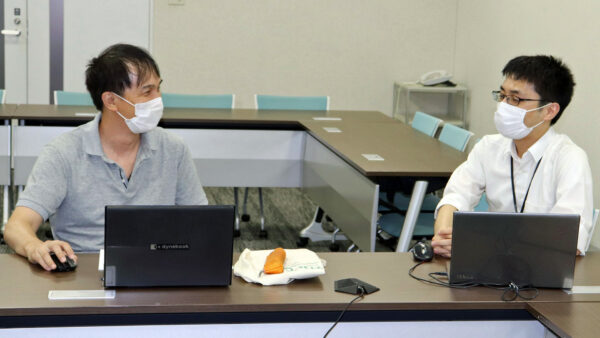 西川さん(左)と工藤さん